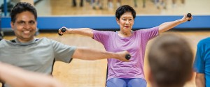 senior exercise - enhance fitness
