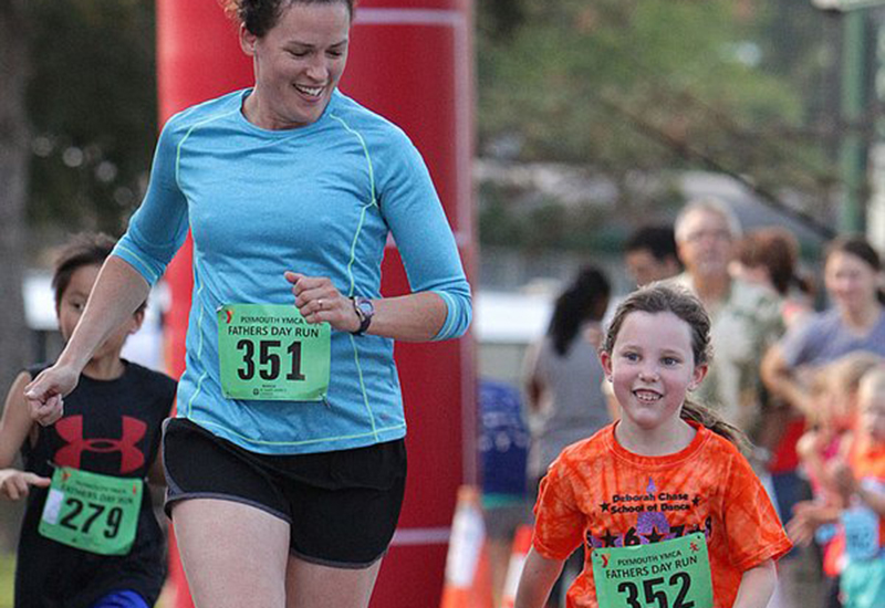 2015 Father's Day Run participants