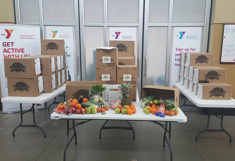 Fresh Food Share at the North Oakland YMCA