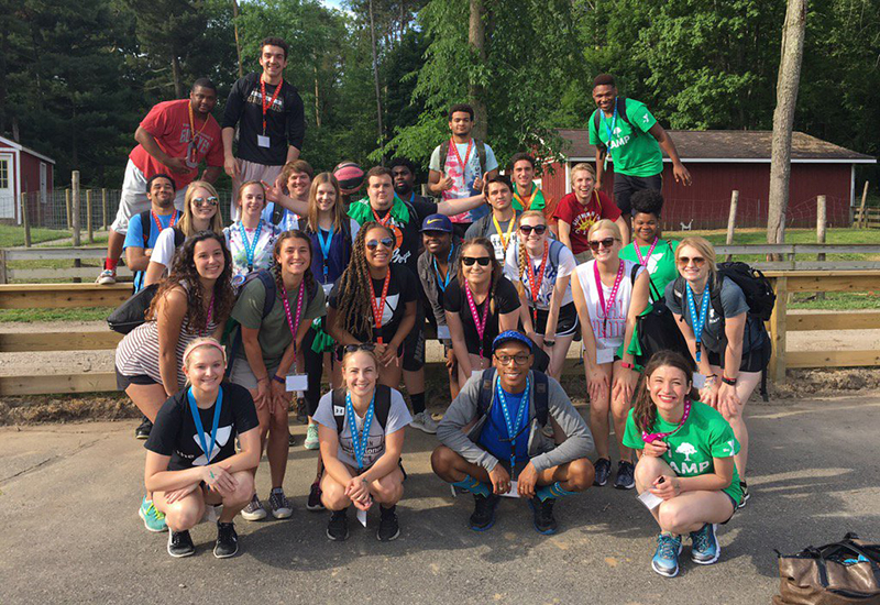 Birmingham Family YMCA camp staff