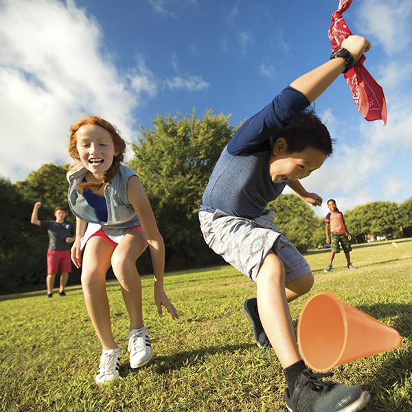 kids enjoying YMCA camp